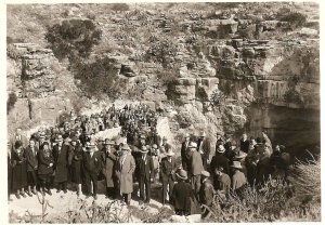 Governor Seligman Jan 23, 1932 in Carlsbad Caverns National Park Photographed by US Dept of Interior, (Personal Collection)