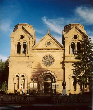 The Building of Cathedral Basilica of St. Francis of Assisi - 1869-1887