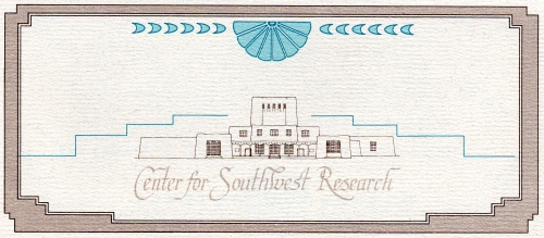 The Center for Southwest Research, UNM: A Documented History