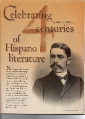 CELEBRATING FOUR CENTURIES OF HISPANO LITERATURE (Part 1)