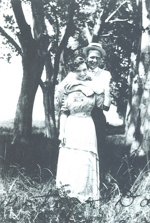 Allan and Della C. MacGillivray,  Honeymoon 1910