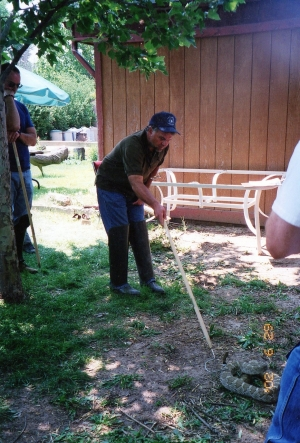 Snake Re-location Training, Espanola Wildlife Center
