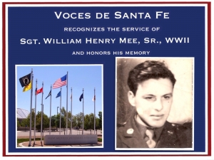 Sgt. William Henry Mee, Sr.
