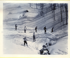 Skiing Big Tesuque - 1940