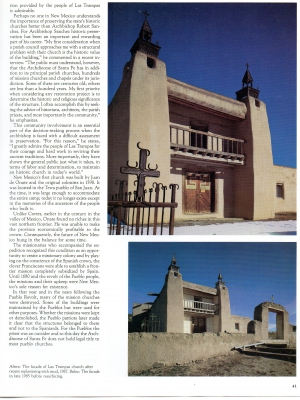 TESOROS DE LA TIERRA: THE RELIGIOUS ARCHITECTURE OF NEW MEXICO (Part 2)