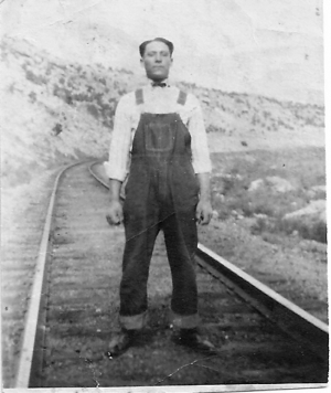 Sam Montoya in Trinidad, Colorado October 24, 1924