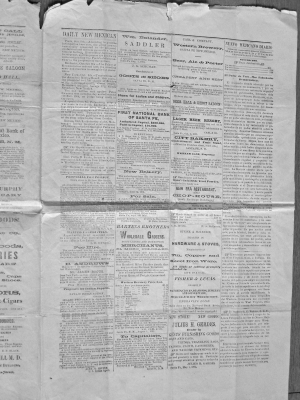 1876 The Daily New Mexican page 3