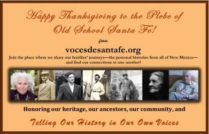 Join the Voces de Santa Fe website and share your history