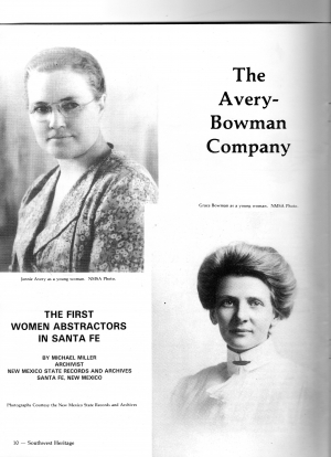 THE AVERY-BOWMAN COMPANY