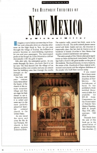 The Historic Churches of New Mexico