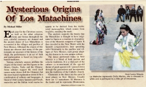 Mysterious Origins of Los Matachines