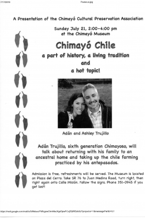 Chimayo Chile: A Growing Tradition