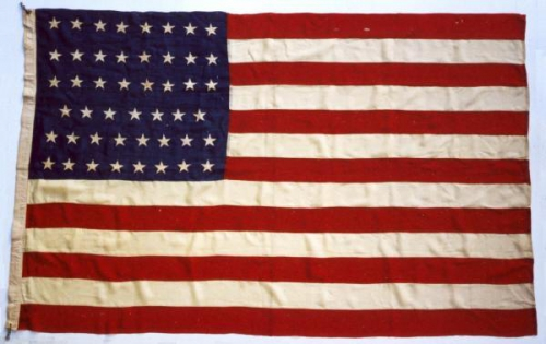 United States 47 Star Flag - January 6, 1912