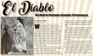El Diablo: The Devil in Christmas Dramatic Performances