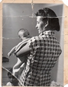 MOM AND I, SANTA FE 1951 (Photo by Laura Gilpin)