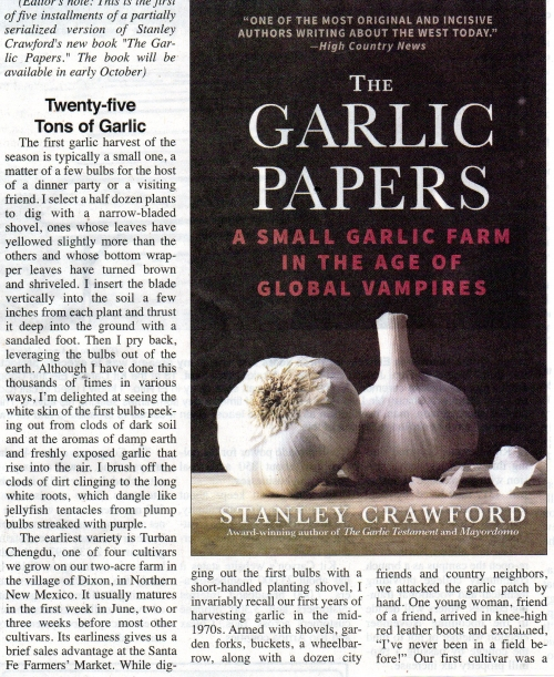 The Garlic Papers