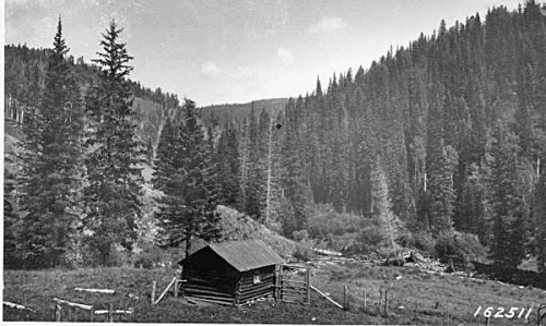 Beatty's Cabin in The Pecos