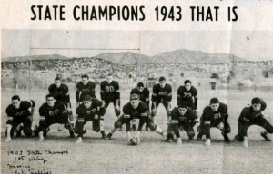 1943 Santa Fe High School State Football Champs