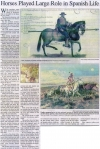 Horses Played Large Role in Spanish Life