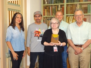Special Book Donated to Library
