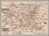 Indian Detours Harveycar Tour Map - 1928
