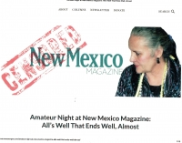 Amateur Night at New Mexico Magazine