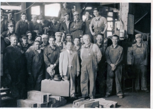 Frank Archibeque and Railroad Co-workers